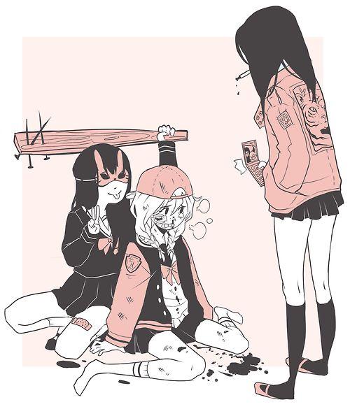 eso es bullying malditas perras q le hacen bullying >:u