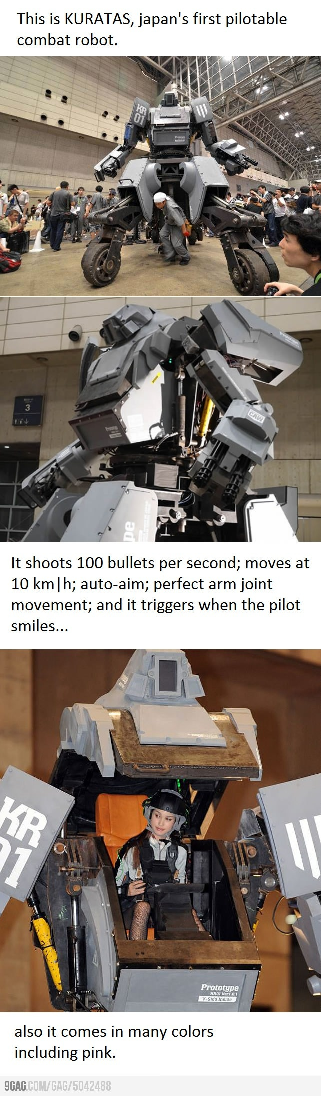 Real Mech:  I definitely want one of these!