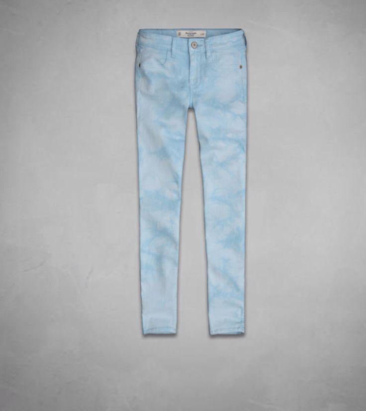 Jeans lavado ácido Abercrombie & Fitch