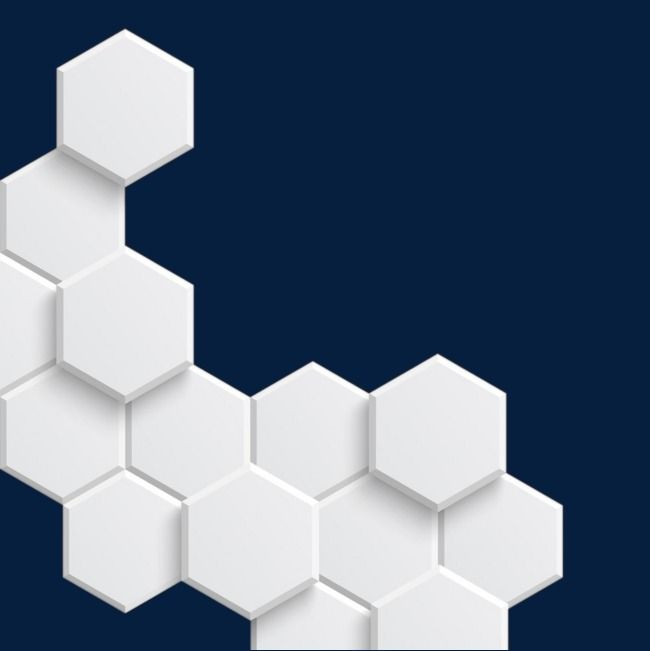 White Transparent Hexagonal Pattern Hexagon Pattern Hexagon Design Pattern