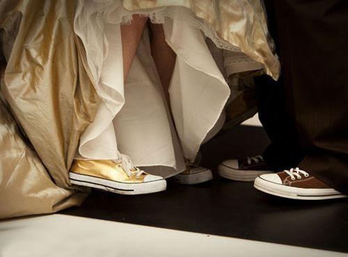Ténis para noivas. #casamento #ténis #noivos #AllStar