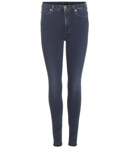 SUPER HIGH-WAIST SKINNY SLIM ILLUSION LUXE JEANS 7 FOR ALL MANKIND