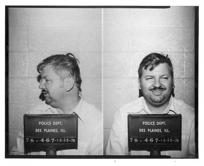 John Wayne Gacy, a perfect example of rightful use of the death penalty.