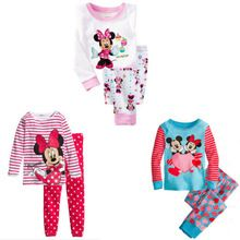 Lovely Cartoon 2015 Tops Pants Suit Baby Girls Nightwear Pajamas Homewear //Price: $US $5.52 & FREE Shipping //     #woman
