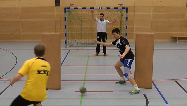 Teamhandball pivot training (2)