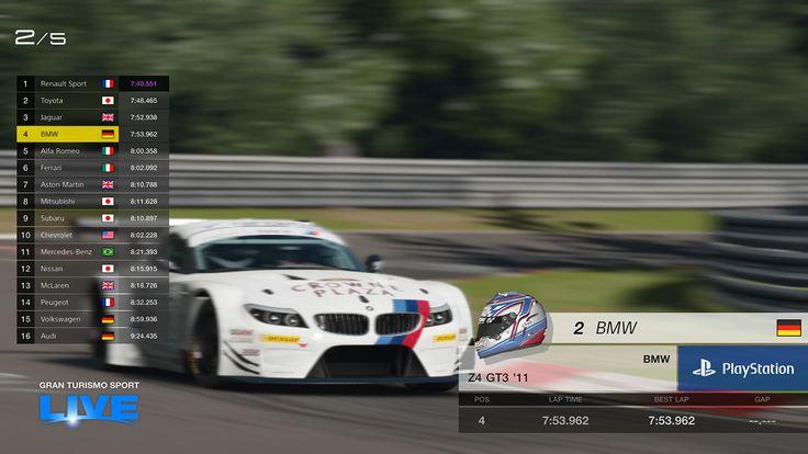 GT SPORT LIVE - Gran Turismo Sport - gran-turismo.com