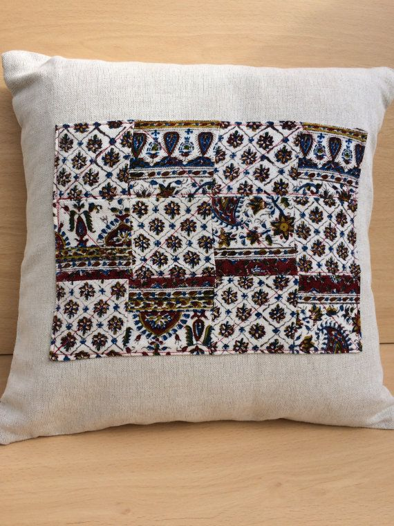 Decorative Cushion Cover linen pillow cover with by aruscraft