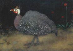 jan mankes | Jan Mankes' Parelhoen : kracht in details. Particuliere collectie.Looks  like a guinea hen...