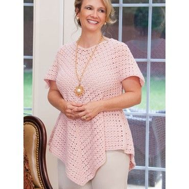 11 Figure Flattering Plus-Size Fashions Crochet Patterns Tunic Shawl Wrap Vest +