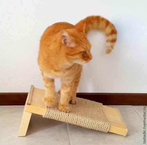 Купить когтеточка малая - Когтеточка, кошка, для домашних животных, мебель для животных, для кошек, сосна, дерево