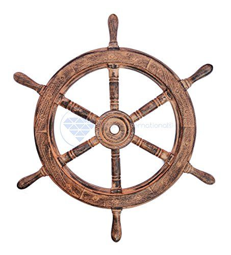 Nautical Handcrafted Wooden Ship Wheel - Home Wall Decor ... https://www.amazon.com/dp/B01DO73AVG/ref=cm_sw_r_pi_dp_x_57dVyb2MEBA9T