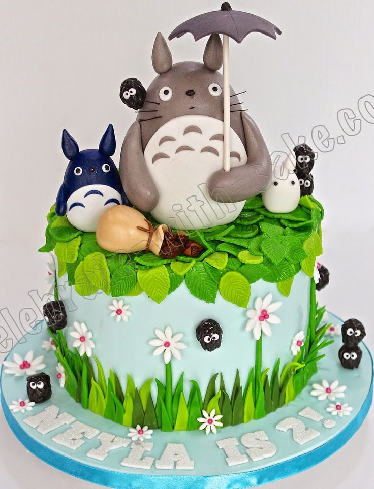 Celebrate with Cake!: Totoro and Dust Bunnies