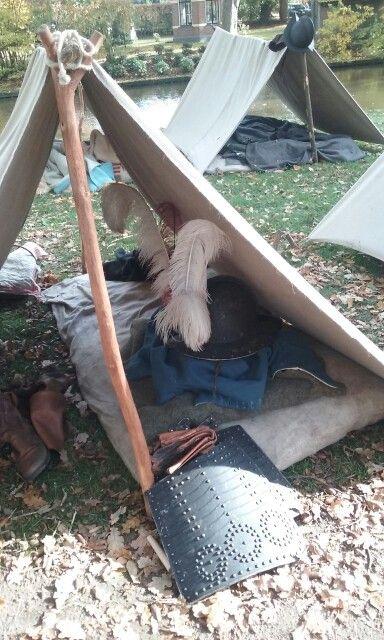 Tent van soldaat