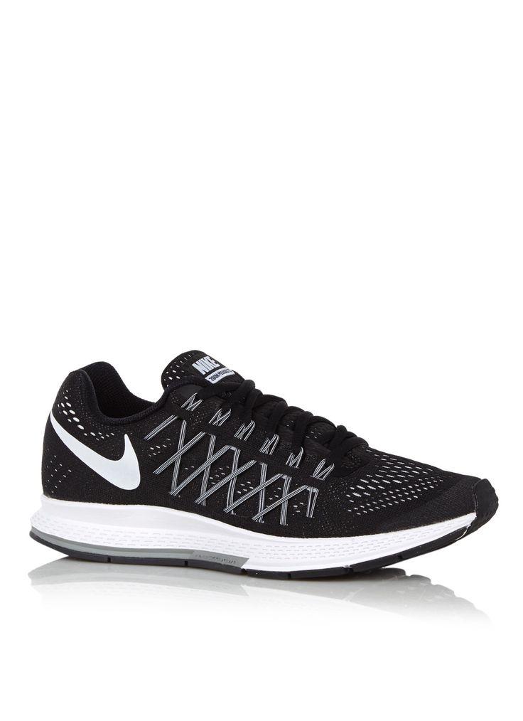 Nike Air Zoom Pegasus 32 hardloopschoen zwart • de Bijenkorf