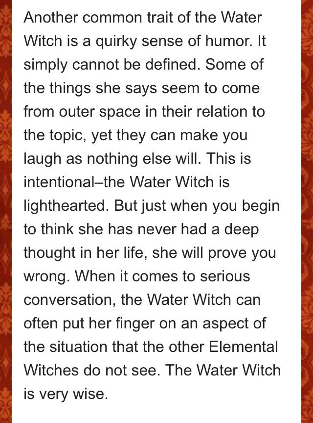 Seas witch~ pagan magic ocean magic sea magic Wiccan wicca types of witches sea witchcraft ✨