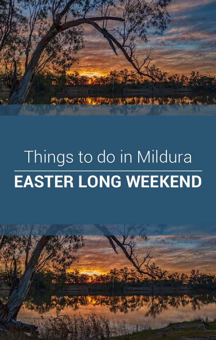 Easter in #Mildura is coming up fast!! Check out our Things to do, packed full of wonderful events :)