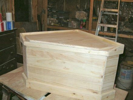 Maybe my father-in-law would be up for this DIY corner toy box project...