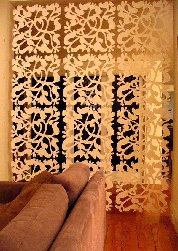 These panels are fantastic and can probably be done cheap and easy..