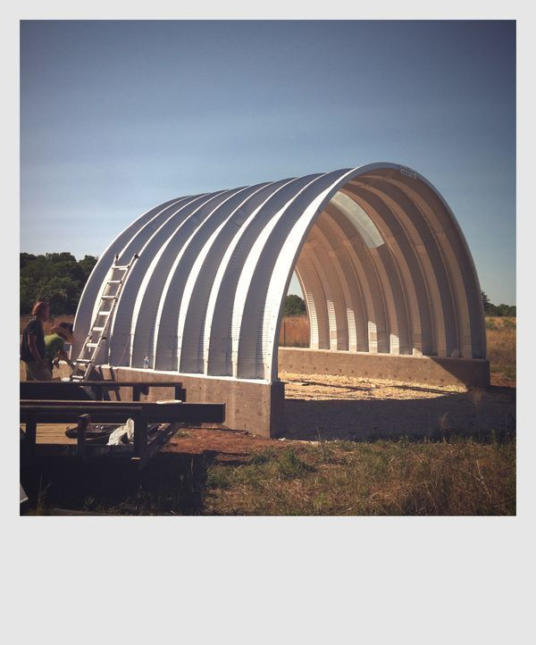 42 best quonset huts images on pinterest steel buildings for Modern quonset homes