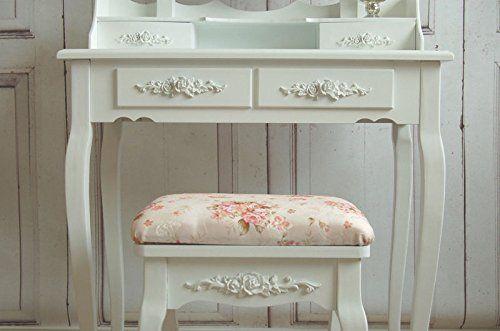 1000 ideas about schminktisch mit hocker on pinterest. Black Bedroom Furniture Sets. Home Design Ideas
