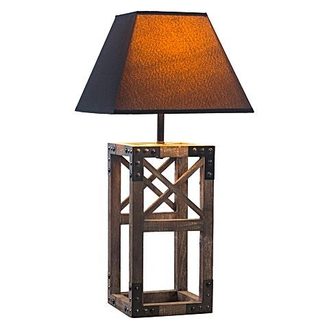 For a framework of industrial design to feature boldly in your home, opt for the Mather Table Lamp from New Oriental.