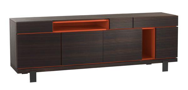 Roche Bobois - OPTIMUM Buffet designed by Studio Roche Bobois #buffet #interiordesign #rochebobois #studiorochebobois #livingroom