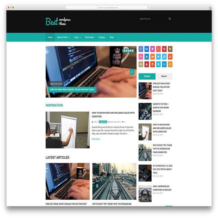 best-minimal-tech-magazine-wordpress-theme