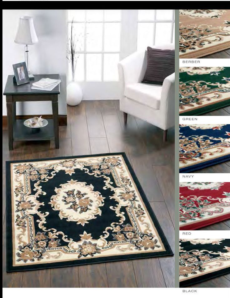 Origins Heat Set Polypropylene Woven Palace Traditional Rug 5 Colours New Ebay