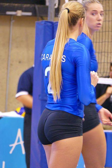 Necessary ass booty butt chearleading cheer cheerleader spandex volleyball question