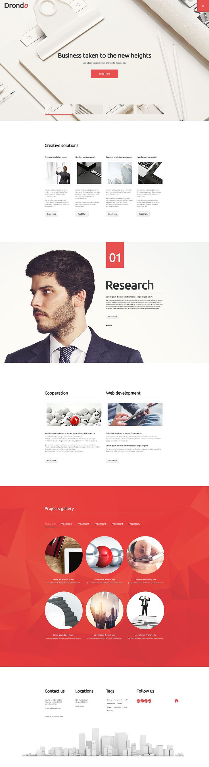 We've created a new #corporate #WordPress #theme for those who appreciate elegance and clean design. Check out the live demo!