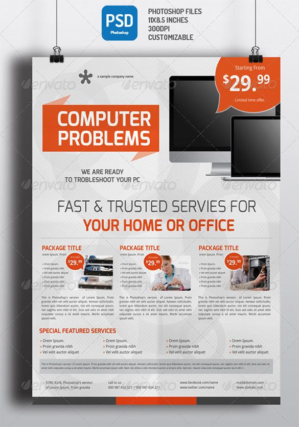 pc repair flyer template computer repair flyer computer repair flyer