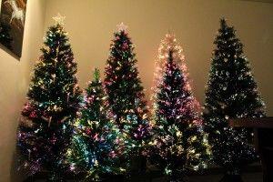 Fiber-Optic-Christmas-Trees