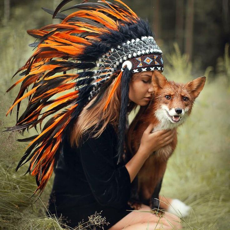 "deepsoulfury: ""Photography with real animals by Katerina Plotnikova """