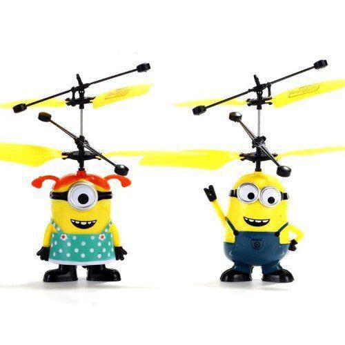 Летающий миньон https://ulber.ru/domsemya/letajushhij-minon  Оригинальная игрушка для детей и взрослых В наше время мало чем можно удивить ребенка. А вот мультики «Гадкий я» посмотрели все. И с интересом, и с удовольствием. Остались рады знакомству с милыми приятными существами Стюартом и Дэйвом. Именно любимые детьми мультики подсказали идею создания полезной и веселой забавы для детей.  Летающий миньон – увлекательная интересная детская игрушка, которая станет великолепным подарком и…