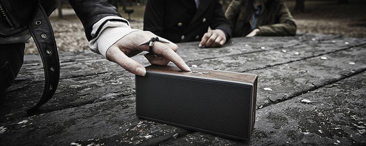 Packable Wireless Speaker | Woodgrain Bluetooth Wireless Speaker | Grain Audio