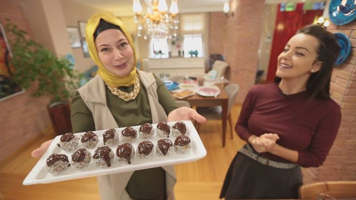 Çay Saati Elmalı Toplar | Nursel'in Mutfağından Yöresel Yemek Tarifleri