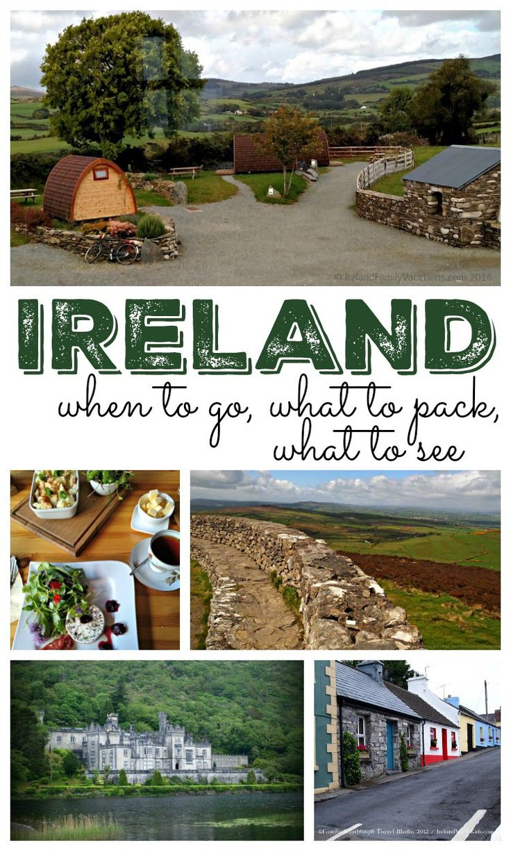 Plan a visit to a beautiful island with these Ireland travel tips featuring when to go, what to pack for your Ireland vacation, and travel tips for what to see   Ireland Family Vacations for Stuffed Suitcase