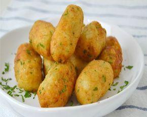 croquetas de bacalao y patata - fáciles