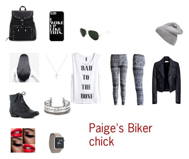 Paige's Biker Chick Outfit