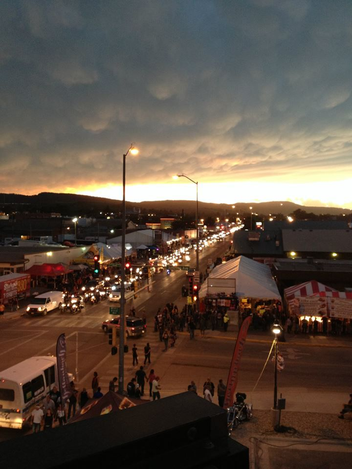 Beautiful view of Sturgis 2013  as the sun sets and a front moves through  the51 best Sturgis South Dakota images on Pinterest   Sturgis south  . The Lighting Connection South Dakota. Home Design Ideas