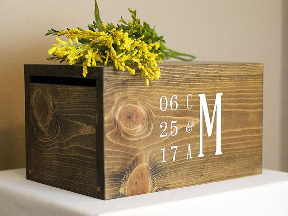 25 best ideas about card box for wedding on pinterest for Awesome money box