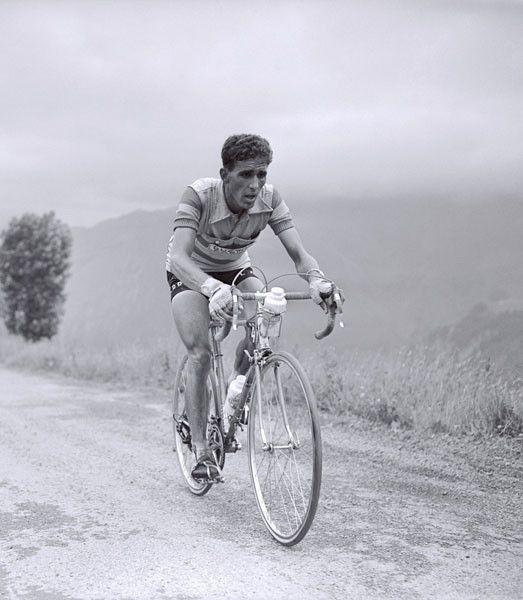 les légendes du cyclisme Fédérico Bahamontes