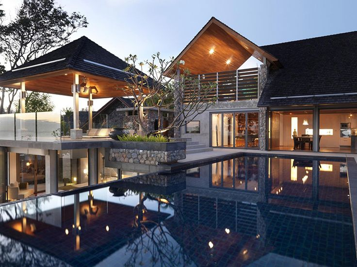 A Private Villa is a Mix of Modern and Traditional Thai Design: The Samsara House 5.