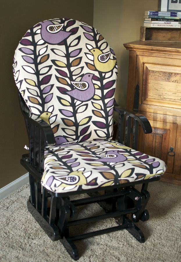 How To Recover Glider Rocking Chair Cushions Teak Chairs 25+ Unique Ideas On Pinterest | Baby Glider, Nursery And ...