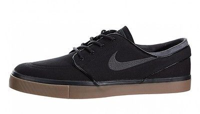 Nike SB Zoom Stefan Janoski Mens 333824-020 Black Gum Skateboard Shoes Size 13