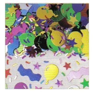 Confetti Balloon Fun Mix 1/2 oz.