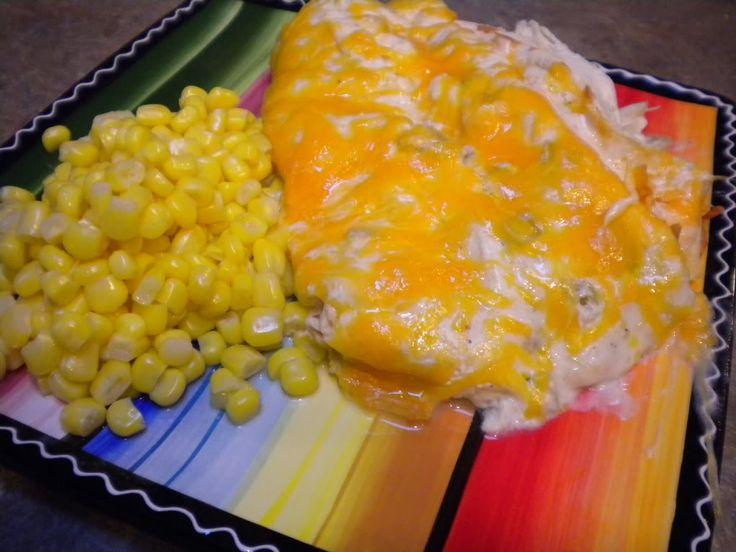 Sam's Club Meal Plan #2: .Sour Cream Chicken Enchiladas