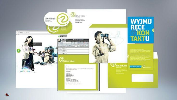 Corporate Identity, Zdalny.biz, Creamteam Branding & Advertising Design Studio, www.creamteam.biz, creamteam.pl