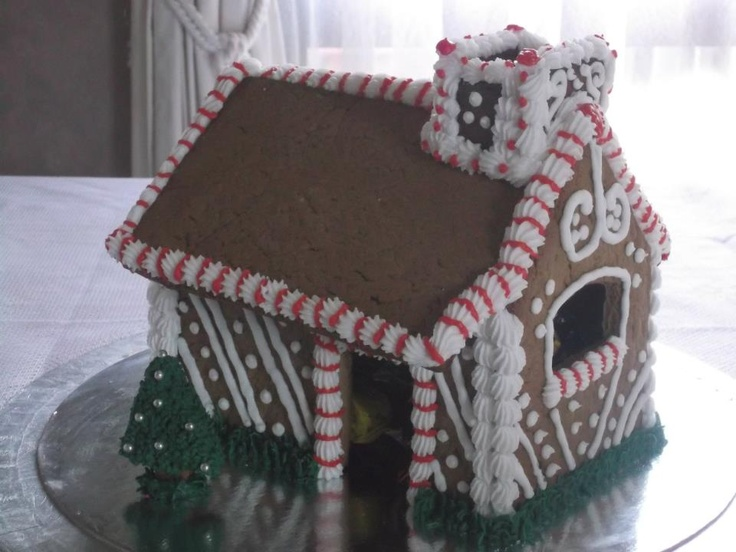 this is a lynlee & mum creation - gingerbread house 2011