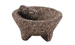 8 inch molcajete made of marble ($29.99)